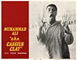 A.K.A. Cassius Clay Muhammad Ali Original Lobby Card