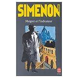 echange, troc Georges Simenon - Maigret et l'Indicateur