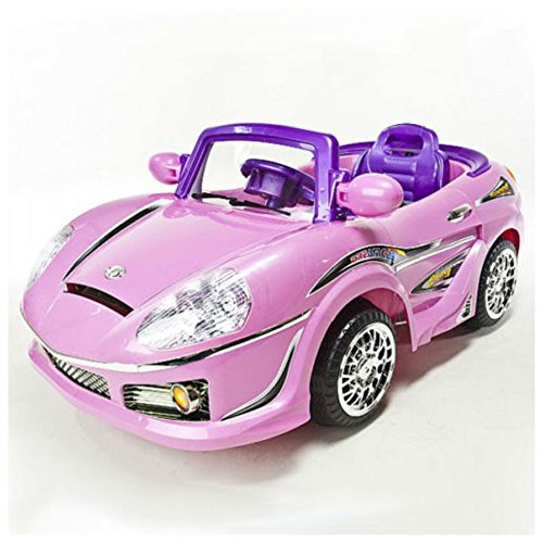 Girls Pink Battery Operated Ride On Remote Control R/C Power Wheels MP3 Car (Be Elite Player Development compare prices)