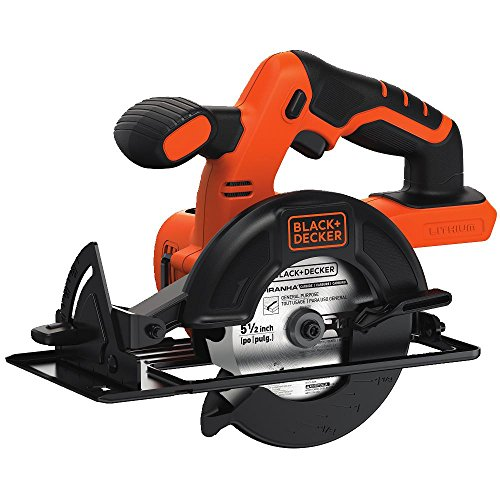 Black-Decker-BDCCS20B-20-Volt-MAX-Lithium-Ion-Circular-Saw-Bare-Tool-55-Inch