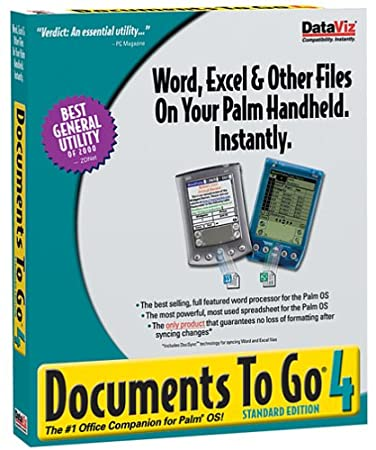 Documents To Go 4.0 Standard Edition