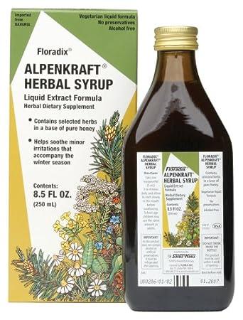 Отзывы Salus Haus Alpenkraft Herbal Cough Syrup 8.5-Ounces