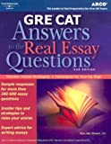 GRE CAT Answers to Real Essay Questions (Peterson's GRE Answers to the Real Essay Questions)