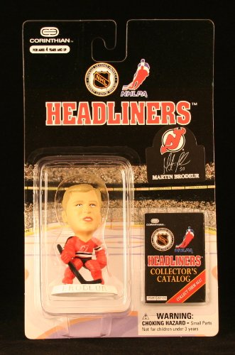 MARTIN BRODEUR / NEW JERSEY DEVILS * 3 INCH * 1997 NHL Headliners Hockey Collector Figure