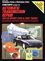 Guide to Automatic Transmissions, 1984-89 (Import Cars and Trucks) (Haynes Repair Manuals)