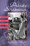 Private Screenings: Television and the Female Consumer (Camera Obscura Book)