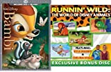Bambi (Two-disc Diamond Edition Blu-ray/DVD Combo in DVD Packaging) with Exclusive Bonus Disc