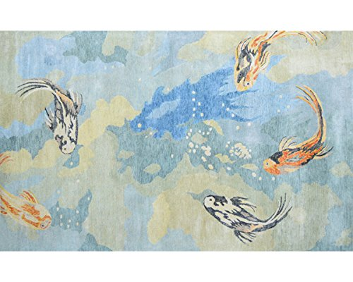 The Rug Market 44462D Handmade Rugs, Multicolor