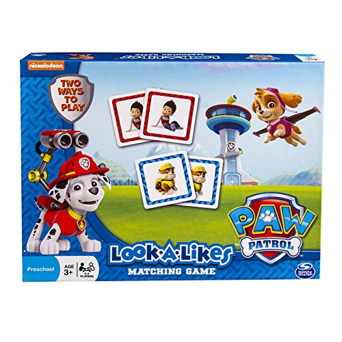 Paw Patrol Look a Likes Matching Board Game - 1