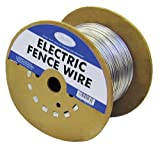 G & B 317754A 1320-Foot Galvanized 17-Gauge Electric Fence Wire Spool