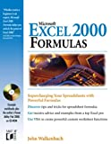 Microsoft Excel 2000 Formulas (0764546090) by Walkenbach, John