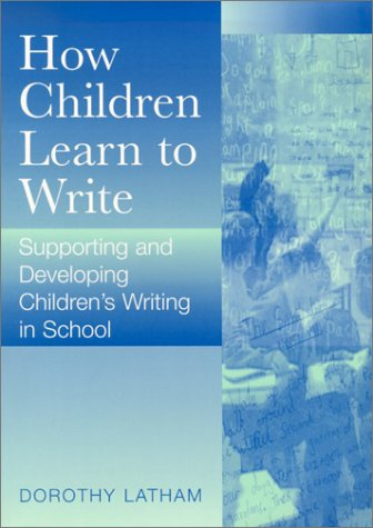 How do children learn to write