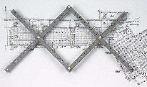 Alvin PA305 18 Wood Pantograph (Color: Silver, Tamaño: 18)