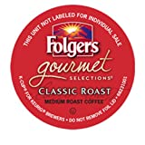 Folgers Gourmet Selections Classic Roast Coffee Keurig K-Cups, 96 Count