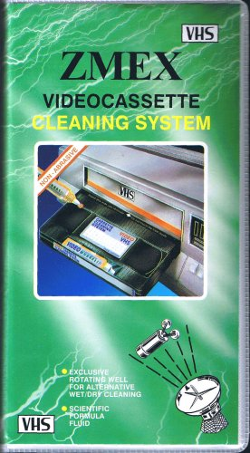 Zmex Videocassette Cleaning System