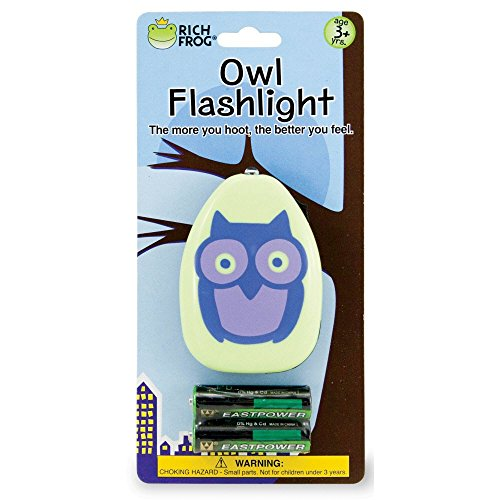 Rich Frog Owl Flashlight with Batteries - 1