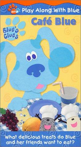 Blue S Clues Cafe Blue Vhs