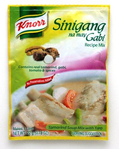 Knorr Sinigang na may Gabi Recipe Mix クノール シニガン ガビの素 44g