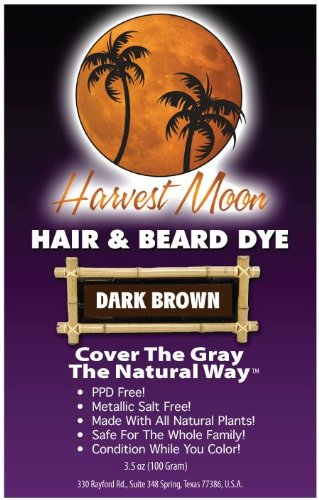 Dark Brown Henna Hair Dye 100 Grams!