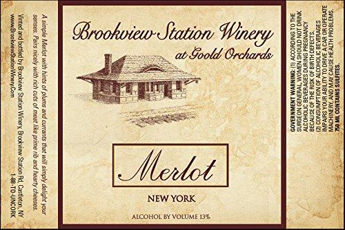 Nv Brookview Station Merlot 750 Ml