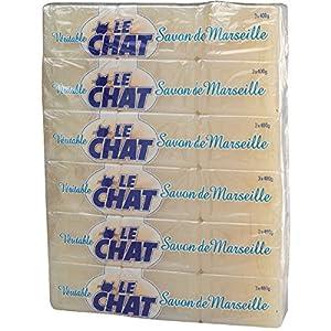 Savon de Marseille en morceau - Blanc - 600 g