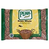 White Pearl Gram Whole 2 kg (Pack of 3)