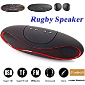 Intex Aqua QwertyCOMPATIBLE MINI Bluetooth Multimedia Speaker System With FM / Pen Drive / SD Card - Rugby Mini X6