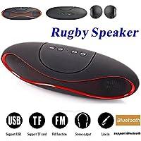 Apple IPod Nano 5 COMPATIBLE MINI Bluetooth Multimedia Speaker System With FM / Pen Drive / SD Card - Rugby Mini X6
