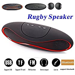 Samsung Galaxy Ace Plus S7500 COMPATIBLE MINI Bluetooth Multimedia Speaker System with FM / Pen Drive / SD Card - Rugby Mini X6
