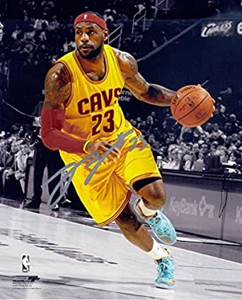 how much is a lebron james autograph worth
