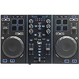 Hercules DJControl Air - Contrôleur DJ USB pour PC et Mac. Table de mixage avec fonction AIR et 8 PADs sensitifs.