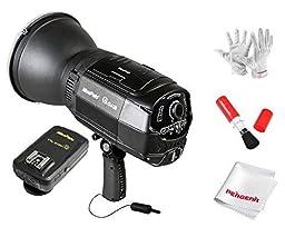 NiceFoto 5500K Q4C High-Speed Sync N-flash Wireless Outdoor LED Flash/Strobe Studio Light for Canon cameras