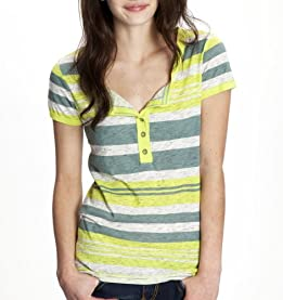 Gabriella Striped Henley