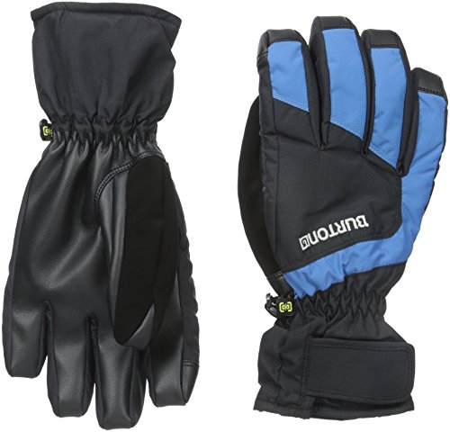 Burton Profile Under Gloves, True Black/Glacier Blue, Medium (True Blue Gloves compare prices)