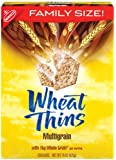 Wheat Thins Family Size, Multi-Grain, 15-Ounce Boxes (Pack of 6)