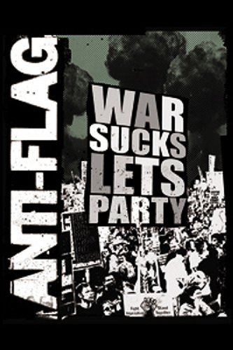 Licenses Products Anti Flag War Sucks Magnet - 1