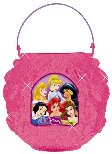 Disney Princess pink halloween candy collection bag
