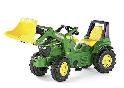rrolly-toys-710027-john-deere-tractor-miniatura-con-pala-frontal-importado-de-alemania