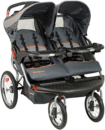 Cheap Baby Trend Navigator Double Jogging Stroller, Vanguard