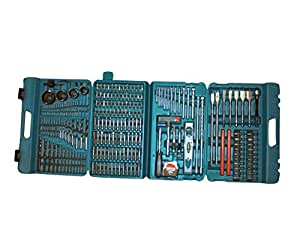 Makita Complete Drill and Bit Set (216 Pieces)