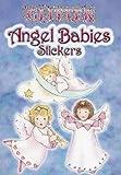 img - for Glitter Angel Babies Sticker Set - 10 Stickers book / textbook / text book