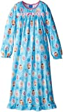 AME Sleepwear Big Girls'  Frozen Anna Elsa and Olaf Nightgown