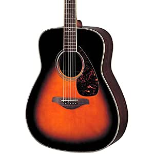 Yamaha FG730S Acoustic Guitar, Tobacco Brown Sunburst available at Amazon for Rs.44149