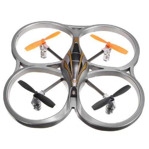 Quad Copter HCW 553 4 Channel Remote Control Mini Shaft Aircrafts QR Series UFO