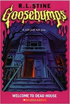 Classic goosebumps 13 welcome to dead house r l stine for Classic haunted house novels