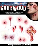 Vampire Bite temporary tattoo