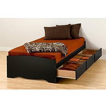 Mates Platform Storage Bed with 3 Drawers