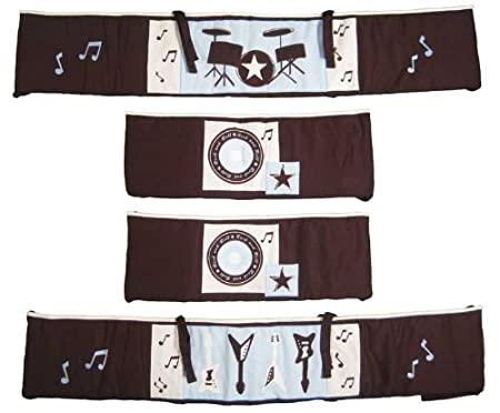 Lambs and Ivy Rock and Roll Bedding and Decor - Baby ...