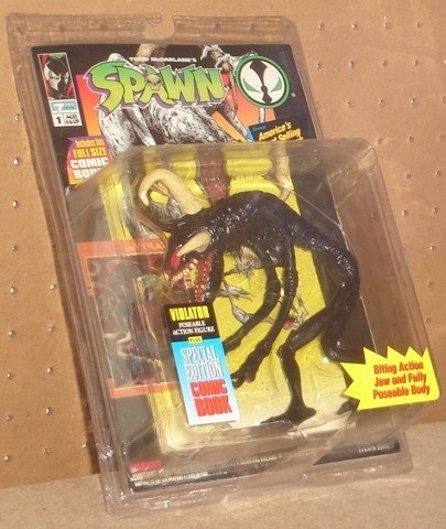 SPAWN VIOLATOR ACTION FIGURE - 1