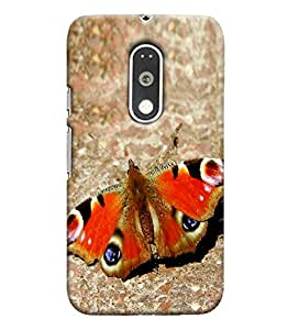 Blue Throat Printed Designer Mobile Back Case Cover for moto G4 plus